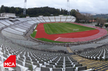 MCA PSS inicia obras no Estádio do Jamor